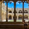 Taking a Break at Jerónimos Monastery