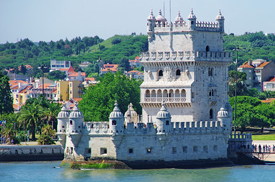 Belem Tower protected the port of Lisbon from attack