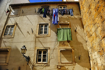 Wednesday's wash hung out to dry