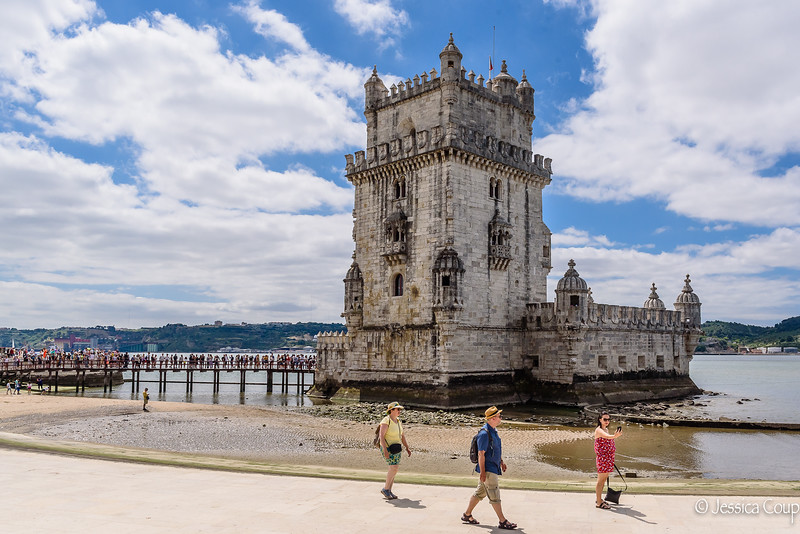 Selfie with Belém Tower