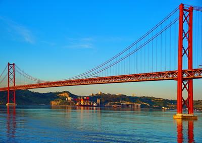 Bridge of the 25th of April, Lisboa, Portugal