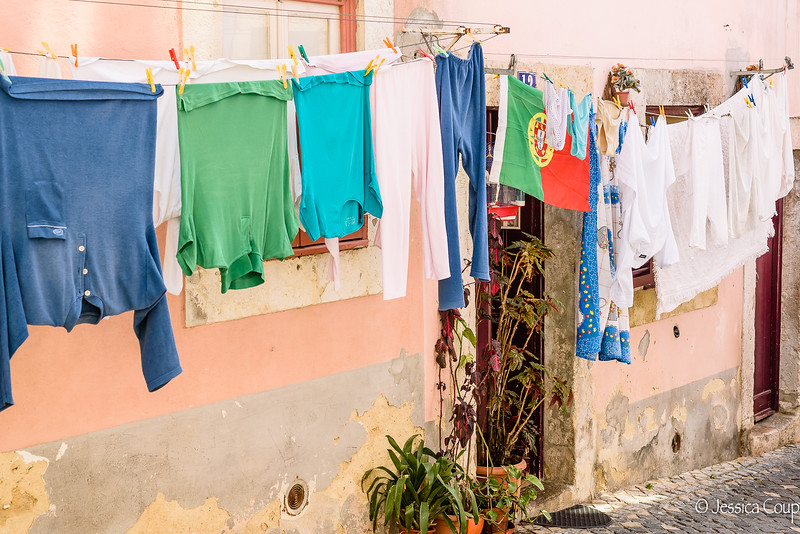 Portuguese Pride Amongst the Laundry