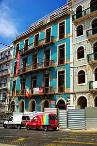 Tiled buildings