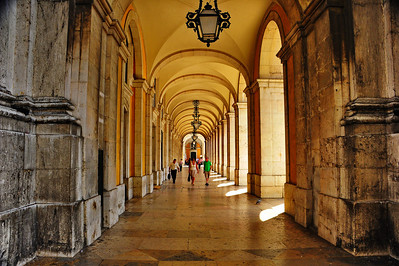 Arched walkways