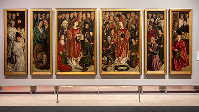 The Panels of St.ddgg Vincent c. 1470