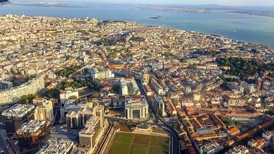 Approaching Lisbon