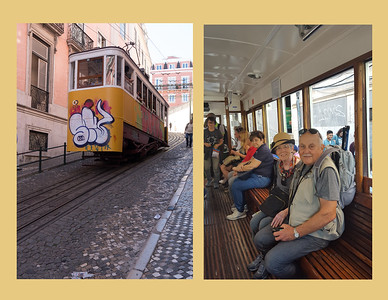 Tolley ride in Lisbon