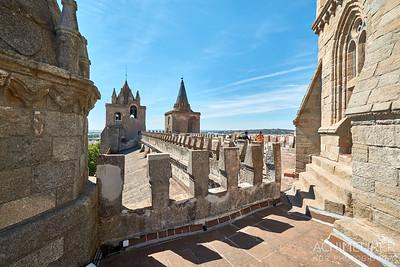 Die Stadt Evora in Portugal