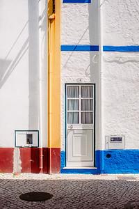 A door in Nazare