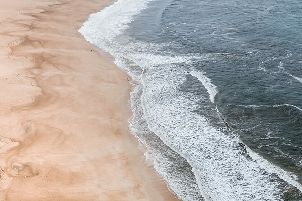 The beach in Nazare