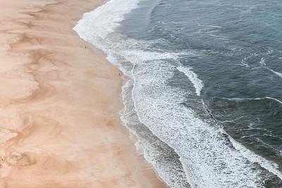 The beach in Nazare