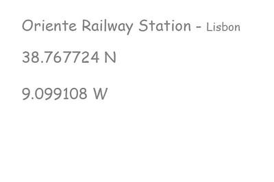 Lisbon-Oriente-Railway-Station