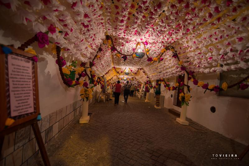 Festas do Povo - Campo Maior 2015 - à noite