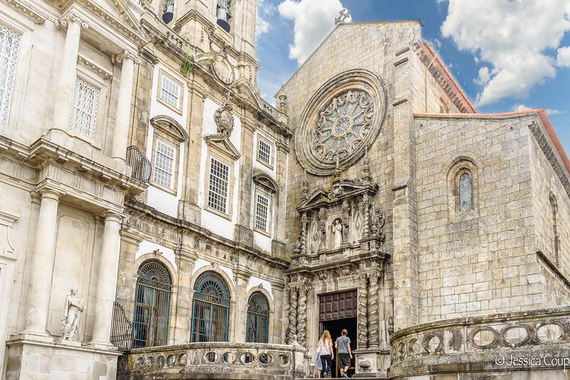 Heading into Church of Sao Francisco