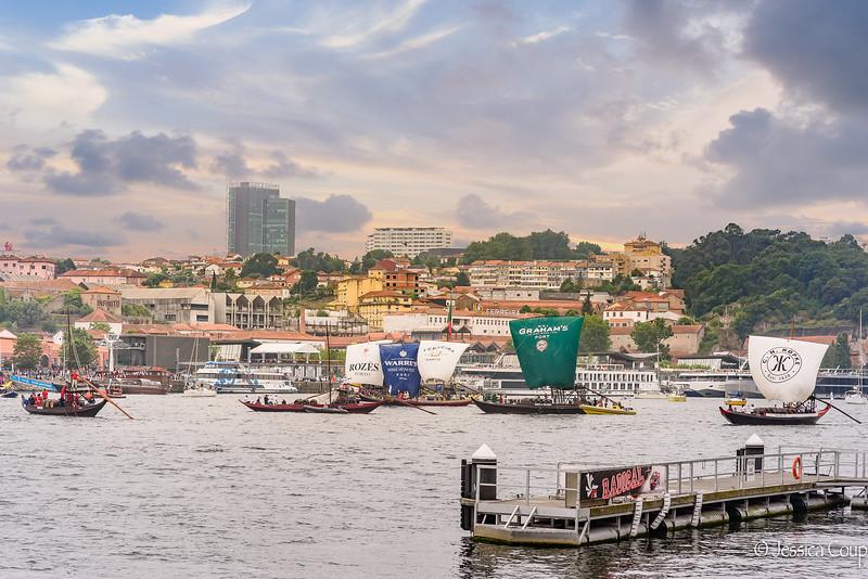 Regata on the River Douro