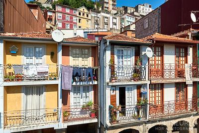 Die Küstenstadt Porto im Norden von Portugal