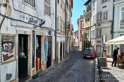 Die Stadt Coimbra in Portugal