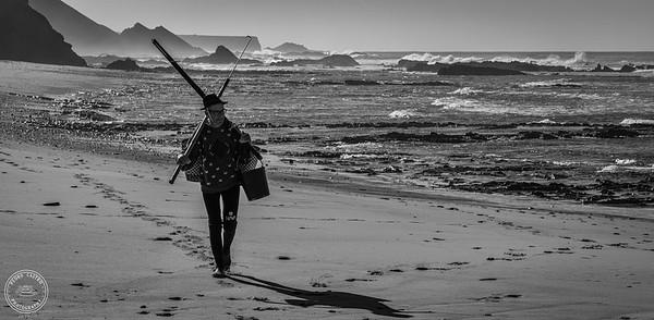 Praia da Carriagem - Algarve - B&W