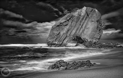 Praia de Santa Cruz - B&W