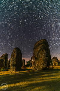 Star Trail - Cromeleque dos Almendres - Évora