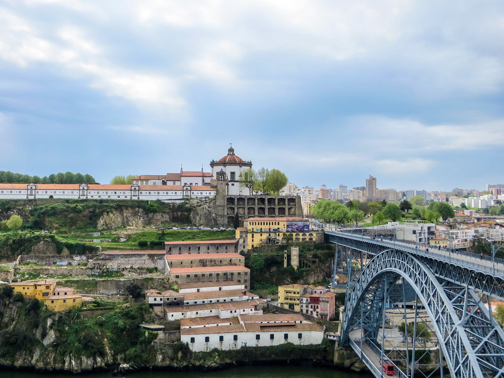 Take a walk across the Dom Luis Bridge and drink some Port.