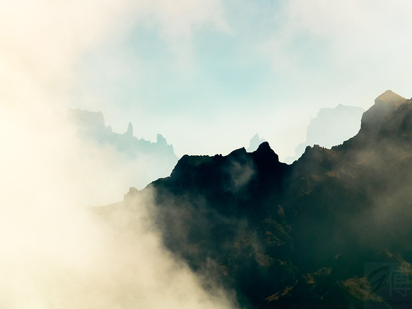 Foggy Mountains in Ilha da Madeira