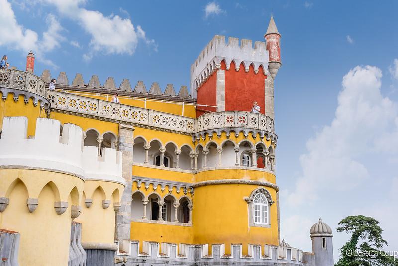 Many Levels of Pena National Palace