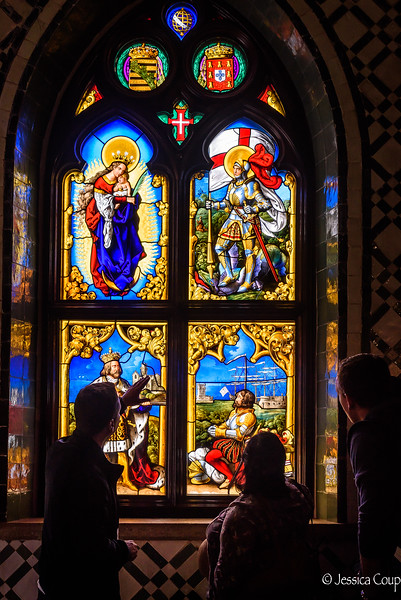 Deciphering  the Stain Glass Windows