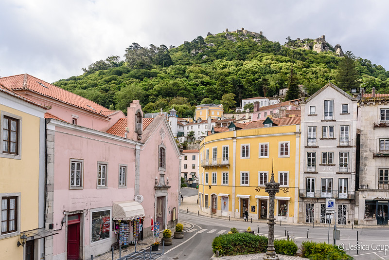 Colorful Buildings of Sintra