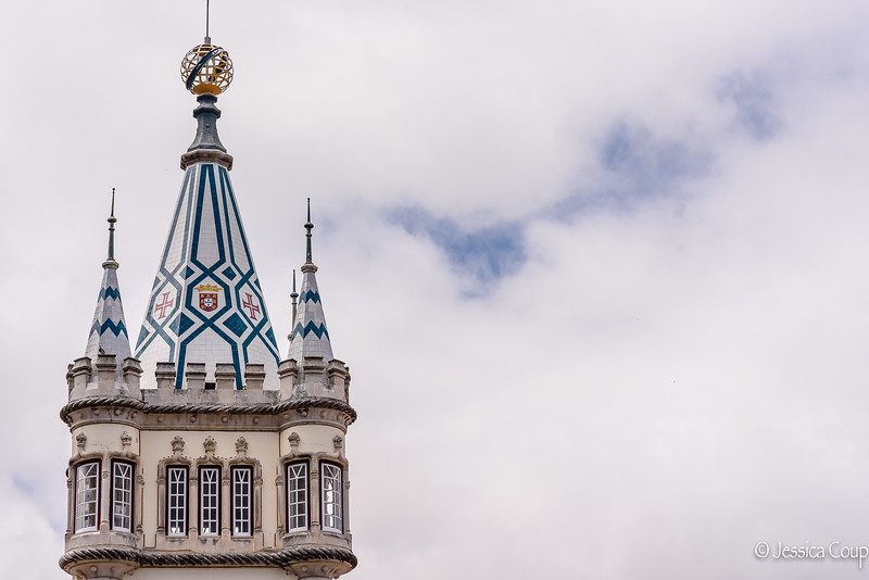 Top of the Municipal Building of Sintra