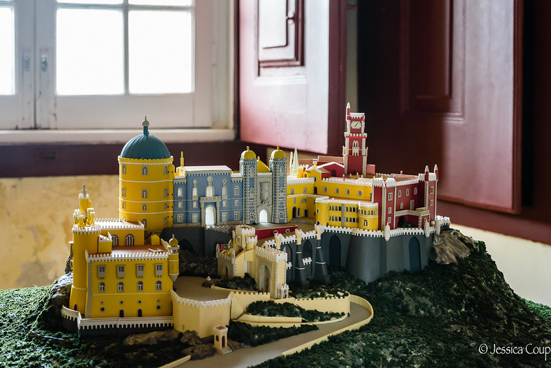 Model of Pena National Palace