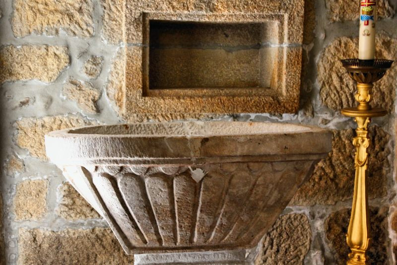 Interior da Matriz de Sanfins do Douro
