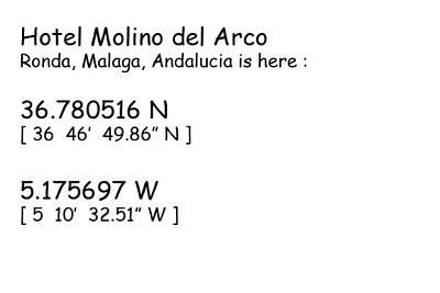 Hotel-Molino-del-Arco-Ronda-GPS
