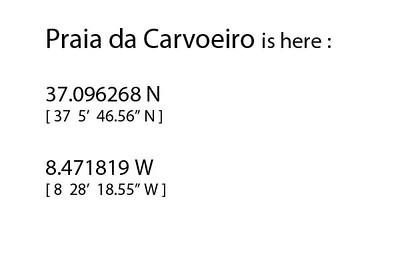 CARVOEIRO-GPS