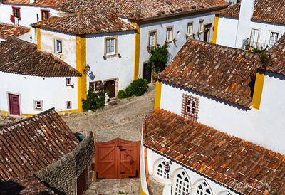 Village Gate in Portugal