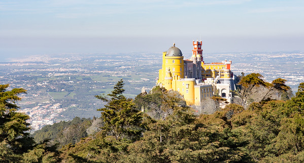 Pena Palace from the High Cross