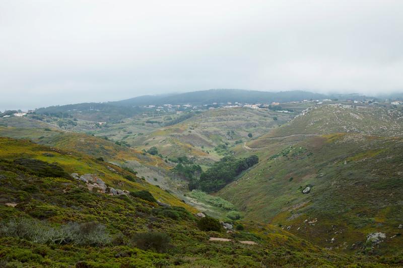 hills at Cabo da Roca