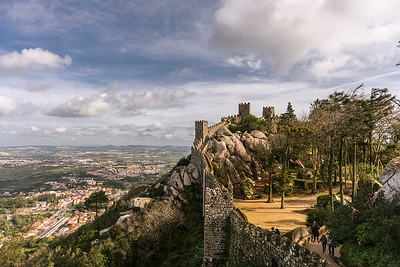 Moor Castle at Sintra Natural Park