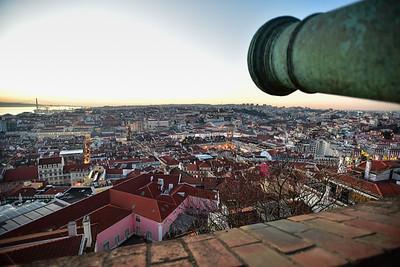 Lisbon from Castelo de S. Jorge