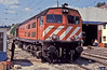 CP 1967 is at the small maintenance facility of Coimbra B on 21 May 1991