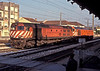 CP MLW-built diesels 1969 and 1962 are seen at Pamphilosa on a sunny evening on 21 May 1991