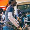 Senegalese musicians in Madrid