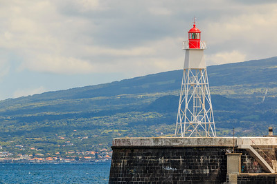 Açores-Faial-Horta Harbor Lighthouse