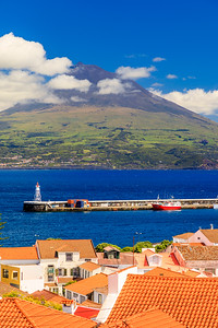 Açores-Faial-Horta and Mt. Pico