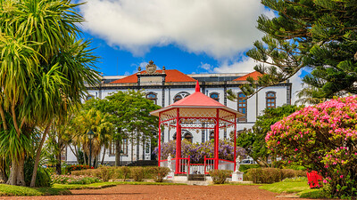 Açores-Faial-Horta-Jardim Florêncio Terra