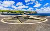 Açores-Faial-Horta harbor compass