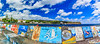 Açores-Faial-Horta harbor paintings