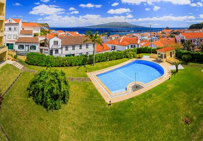 Açores-Faial-Horta panorama