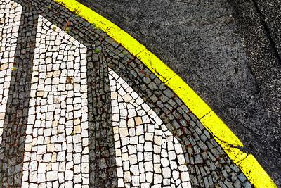 Açores-Faial-Horta-sidewalk