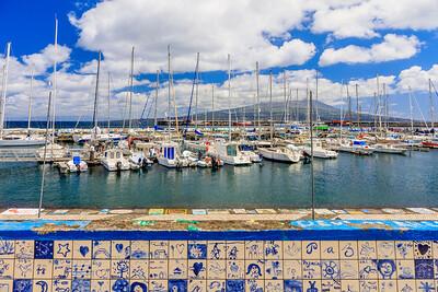 Açores-Faial-Horta harbor